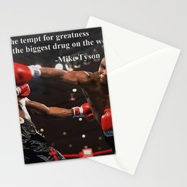 Mike Tyson Art Canvas-Mike Tyson Quotes Art Poster Stationery Cards