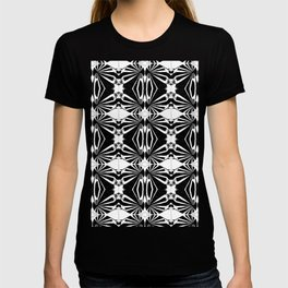 Kalidescope black T-shirt