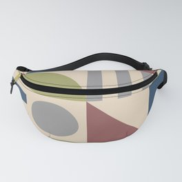 Mid Century Modern Geometric Abstract 926 Fanny Pack