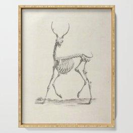 Deer Skeleton Serving Tray