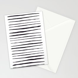 Black Ink Linear Experiment Stationery Cards