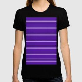 Simple Lines Pattern pu T-shirt