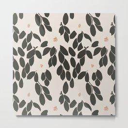 Zooey Magnolia Metal Print