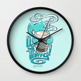 Skribbles: DO THE THING Wall Clock