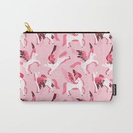 Pink Pegasus Carry-All Pouch