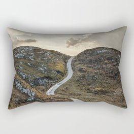 Sunset over Skye Island Rectangular Pillow