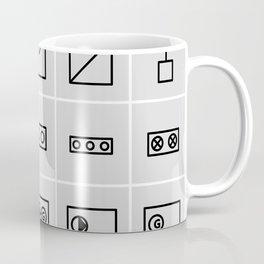 icons electrical symbols Coffee Mug