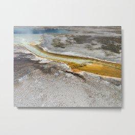 Yellowstone Stream Metal Print