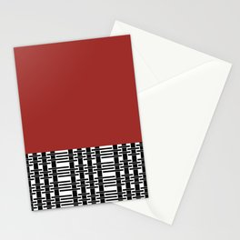 Red Brick And Lace Stationery Cards