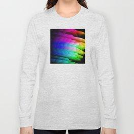 Fingerling Clouds: Elegant Fractal Art Design Long Sleeve T-shirt