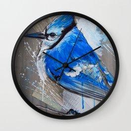 Perched Wall Clock