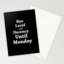 Hands up, its weekend Stationery Cards