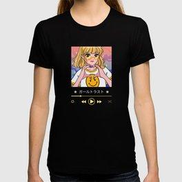 Lovely Anime Girl Media Player T-shirt