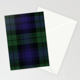 BLACK WATCH TARTAN Stationery Cards