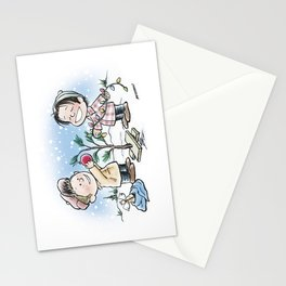A Supernatural Charlie Brown Christmas Stationery Cards