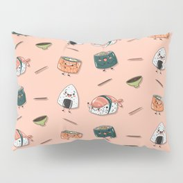 Cute sushi pattern Pillow Sham