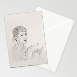 Portrait of Plants Stationery Cards