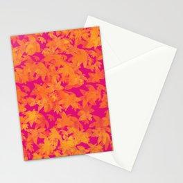 Autumn Leaves Pattern / GFTLeavesPattern001 Stationery Cards