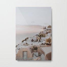 santorini iii / greece Metal Print