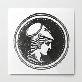 Athena Minerva Metal Print