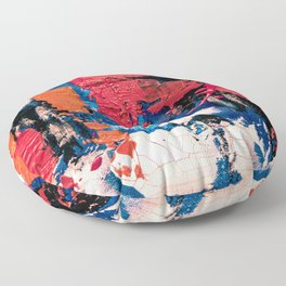 Abstract painting Floor Pillow