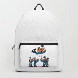 Dog Man Backpack