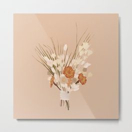 Bloom with Grace Metal Print
