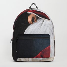 Michelangelo Merisi da Caravaggio - Portrait of Pope Paul V Backpack