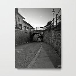 Streetview Metal Print