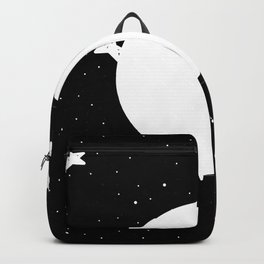 Moon Phases: waning gibbous Backpack