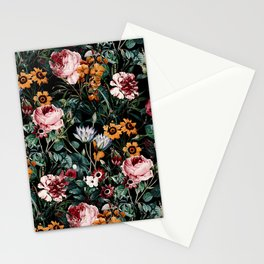 Midnight Garden III Stationery Cards