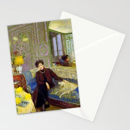 Edouard Vuillard - Marcelle Aron, Madame Tristan Bernard - Digital Remastered Edition Stationery Cards