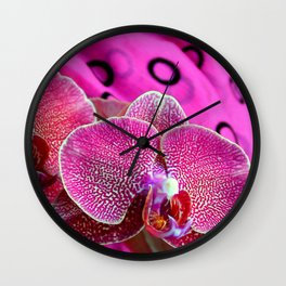 Grape-i-licious Wall Clock