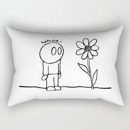 Flower Guy Rectangular Pillow