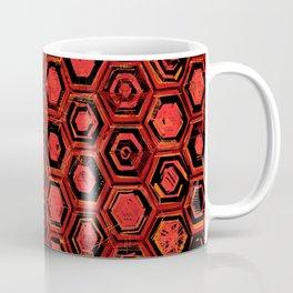 Lava Hex Coffee Mug
