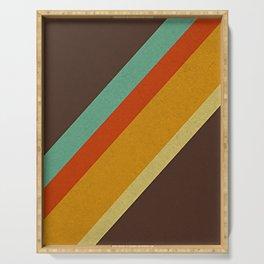 Retro 70s Color Palette Serving Tray