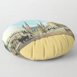 Antwerpen Antwerp Steen medieval castle Floor Pillow
