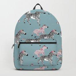 Zebras Pattern Backpack