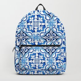 Portuguese Tile Backpack