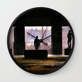 Explorations Wall Clock