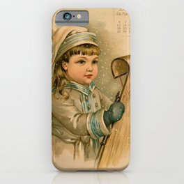 Canadian Girl Maud Humphrey iPhone Case