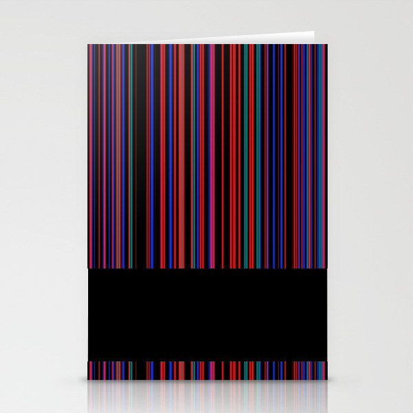 Thin Stripes 1 Stationery Cards by Dparker CRD8018100