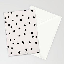 Creme & Black Spots Stationery Cards
