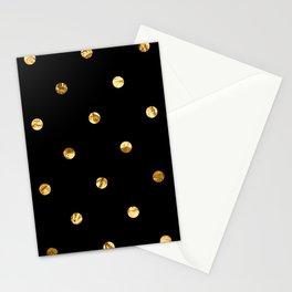 Black & Gold Stationery Cards