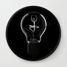 Dancing light Wall Clock