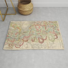 River Cartography Rug