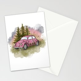 I love camping Stationery Cards