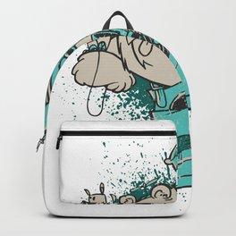 Baer with dog Backpack