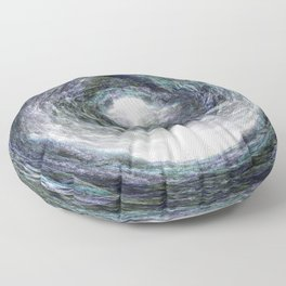The Marbled Forest.... Floor Pillow