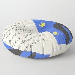 Icarus, Plate VIII by Henri Matisse Floor Pillow